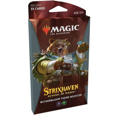 Booster Strixhaven School of Mages - Theme Booster Witherbloom Noir / Vert
