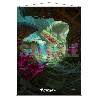 Décoration Magic the Gathering Wall Scroll - Zagoth Triome