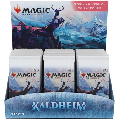 Boite de Boosters Magic the Gathering Kaldheim - 30 Boosters d'Extension en ALLEMAND
