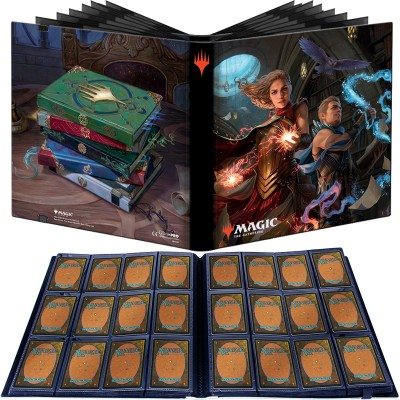 Portfolio Magic the Gathering Pro-binder - 20 pages de 12 cases (480 cartes recto-verso) - Strixhaven : l'Académie des Mages