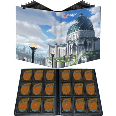Portfolio Magic the Gathering Pro-binder - 20 pages de 9 cases (360 cartes recto-verso) - Strixhaven : Le Biblioplexe