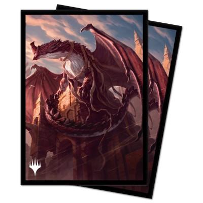 Protèges Cartes illustrées Magic the Gathering Strixhaven - Velomachus Forsapience