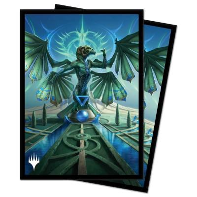Protèges Cartes illustrées Magic the Gathering Strixhaven - Tanazir Quandrix