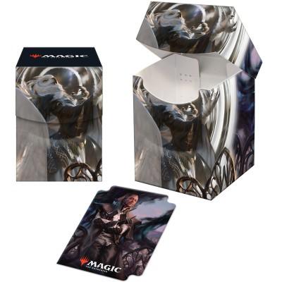 Boite de rangement illustrée Magic the Gathering Strixhaven - Deck Box 100+ - Shaile, doyenne de l'irradiance