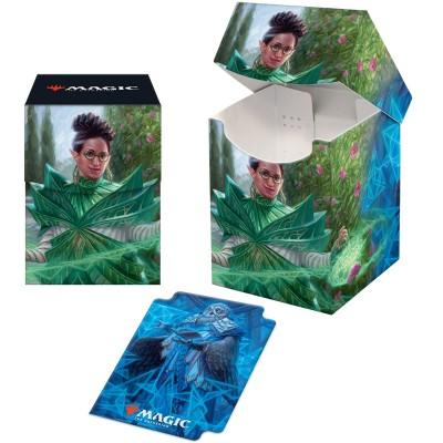 Boite de rangement illustrée Magic the Gathering Strixhaven - Deck Box 100+ - Kianne, doyenne de la substance