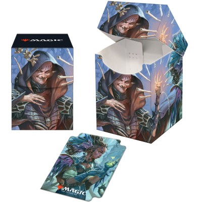 Boite de rangement illustrée Magic the Gathering Strixhaven - Deck Box 100+ - Valentin, doyen de la veine
