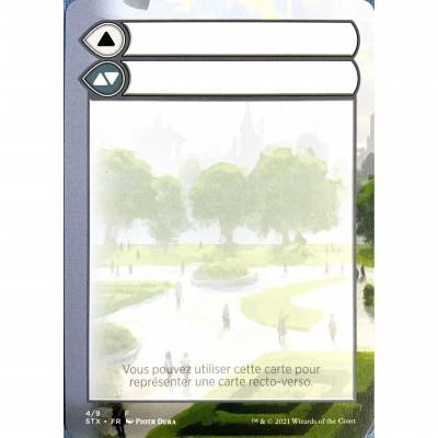 Token Magic Magic the Gathering Jeton - Helper Card : Strixhaven 4/9