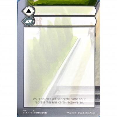 Token Magic Magic the Gathering Jeton - Helper Card : Strixhaven 7/9