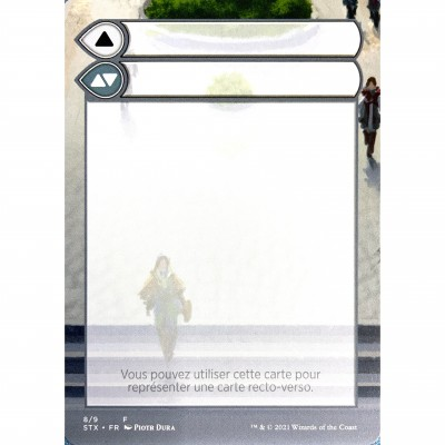 Token Magic Magic the Gathering Jeton - Helper Card : Strixhaven 8/9