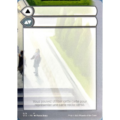 Token Magic Magic the Gathering Jeton - Helper Card : Strixhaven 9/9
