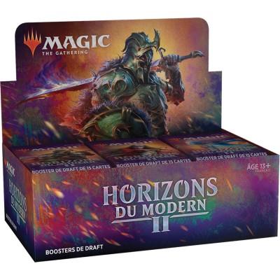 Boite de Boosters Magic the Gathering Horizons du Modern 2 - 36 Boosters de Draft