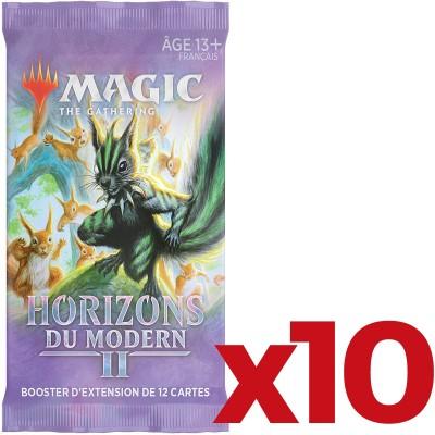 Booster Magic the Gathering Horizons du Modern 2  - Booster d'Extension - Lot de 10