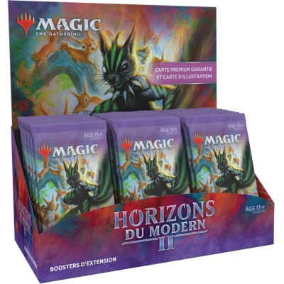 Boite de Boosters Magic the Gathering Horizons du Modern 2  - 30 Boosters d'Extension