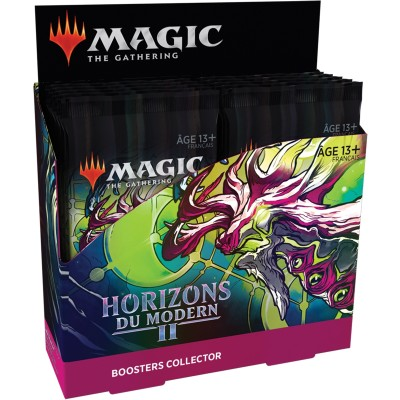 Boite de Boosters Magic the Gathering Horizons du Modern 2 - 12 Boosters Collector