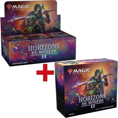 Offres Spéciales Magic the Gathering Horizons du Modern 2 - Small Pack : Boite VF + Bundle VF