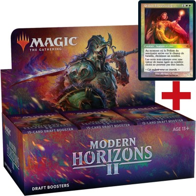 Boite de Boosters Magic the Gathering Modern Horizons 2 - 36 Draft Boosters  + Carte Buy a Box