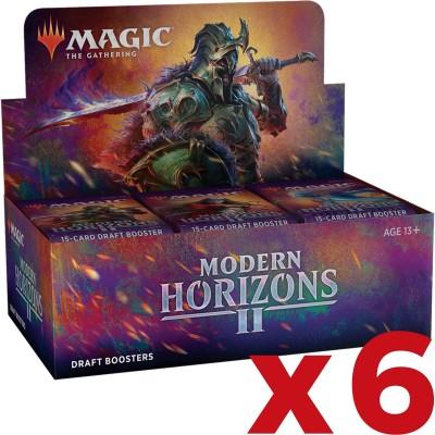 Boite de Boosters Magic the Gathering Modern Horizons 2 - 36 Draft Boosters - Lot de 6