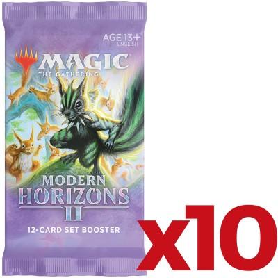 Booster Magic the Gathering Modern Horizons 2 - Set Booster - Lot de 10
