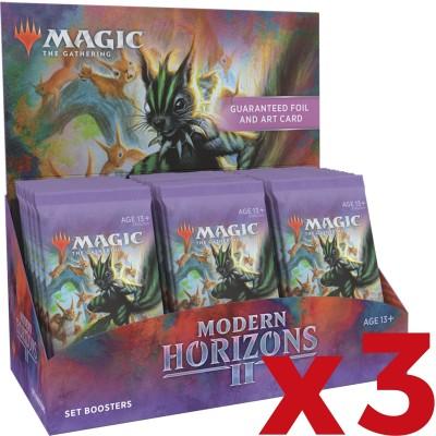 Boite de Boosters Magic the Gathering Modern Horizons 2 - 30 Set Boosters - Lot de 3