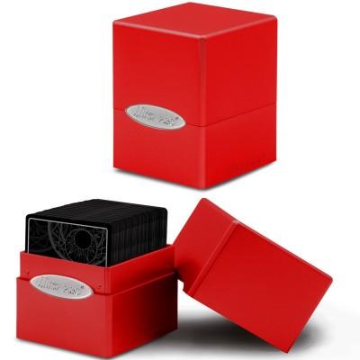 Boite de Rangement  Satin Cube - Apple Red