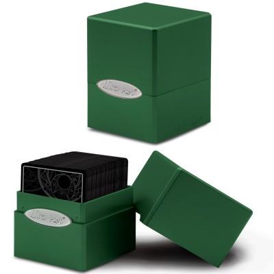 Boite de Rangement  Satin Cube - Forest Green