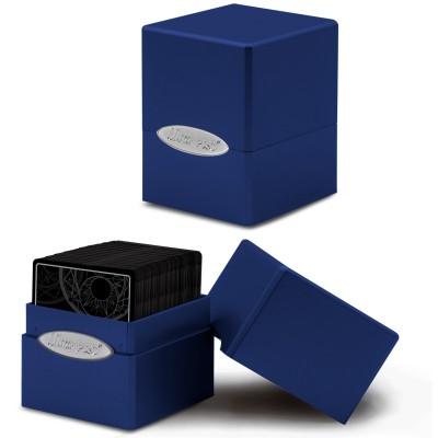 Boite de Rangement  Satin Cube - Pacific Blue