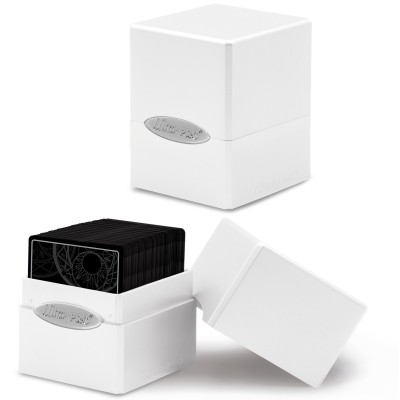 Boite de Rangement  Satin Cube - Arctic White