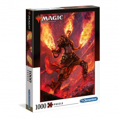 Puzzle Magic the Gathering Planeswalker Chandra - 1000 pièces