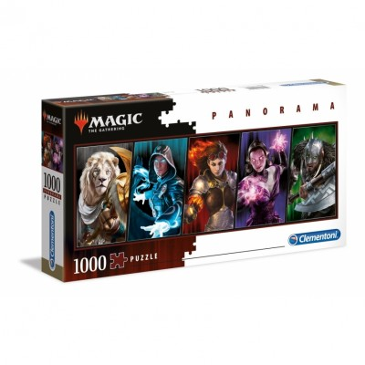Puzzle Magic the Gathering PANORAMIQUE Planeswalkers - 1000 pièces