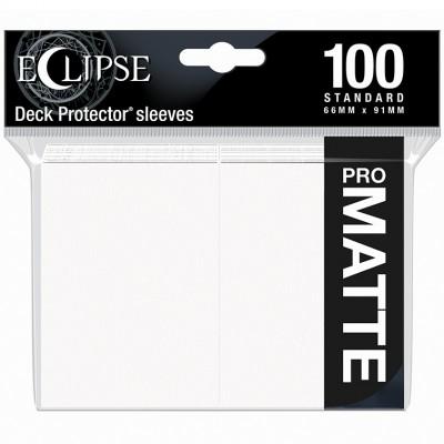 Protèges Cartes  100 pochettes - ECLIPSE Matte - BLANC
