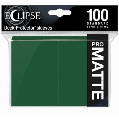 Protèges Cartes  100 pochettes - ECLIPSE Matte - VERT