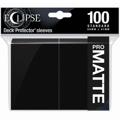 Protèges Cartes  100 pochettes - ECLIPSE Matte - NOIR