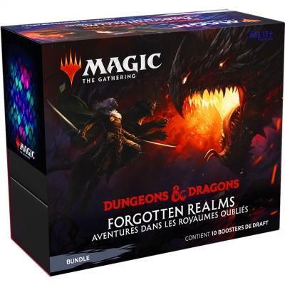 Coffret Magic the Gathering Forgotten Realms : Aventures dans les Royaumes Oubliés - Bundle