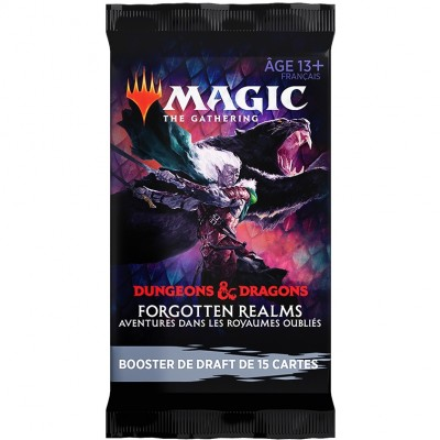 Booster Magic the Gathering Forgotten Realms : Aventures dans les Royaumes Oubliés - Booster de draft