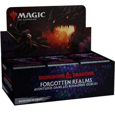 Boite de Boosters Magic the Gathering Forgotten Realms : Aventures dans les Royaumes Oubliés - 36 Boosters de Draft