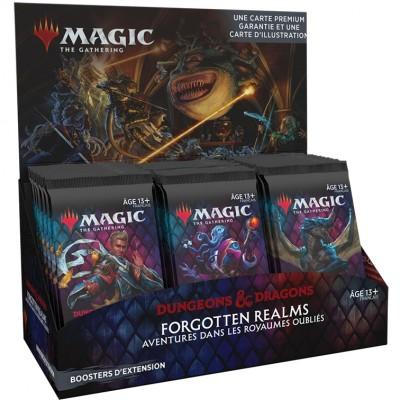 Boite de Boosters Magic the Gathering Forgotten Realms : Aventures dans les Royaumes Oubliés - 30 Boosters d'Extension