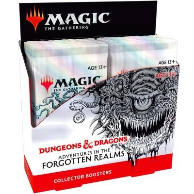 Boite de Boosters Magic the Gathering Forgotten Realms : Aventures dans les Royaumes Oubliés - 12 Boosters Collector