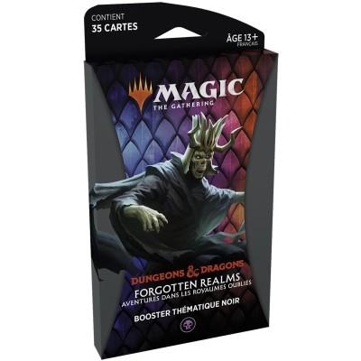 Booster Magic the Gathering Forgotten Realms : Aventures dans les Royaumes Oubliés - Booster Thématique - NOIR