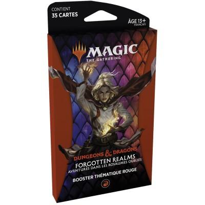 Booster Magic the Gathering Forgotten Realms : Aventures dans les Royaumes Oubliés - Booster Thématique - ROUGE