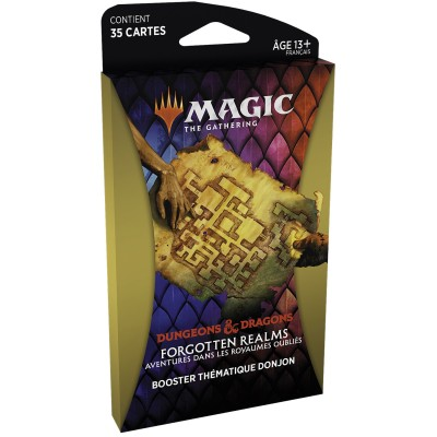 Booster Magic the Gathering Forgotten Realms : Aventures dans les Royaumes Oubliés - Booster Thématique - DONJON