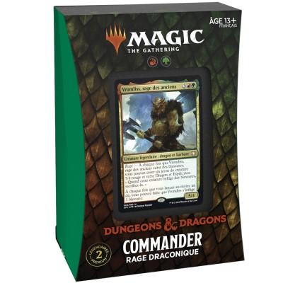 Deck Magic the Gathering Forgotten Realms : Aventures dans les Royaumes Oubliés - Commander - Rage Draconique