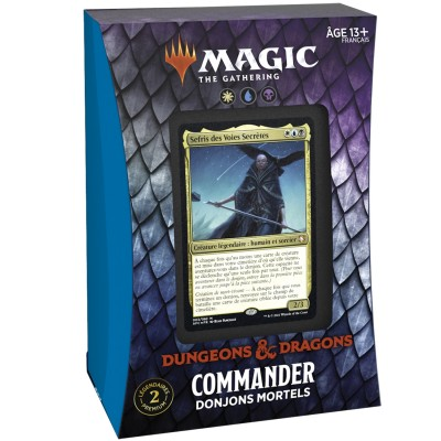 Deck Magic the Gathering Forgotten Realms : Aventures dans les Royaumes Oubliés - Commander - Donjons Mortels