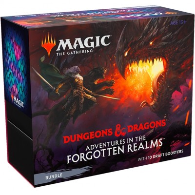 Coffret Magic the Gathering Adventures in the Forgotten Realms - Bundle