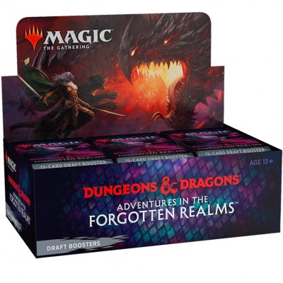 Boite de Boosters Magic the Gathering Adventures in the Forgotten Realms - 36 Boosters de Draft
