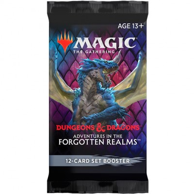 Booster Magic the Gathering Adventures in the Forgotten Realms - Booster d'Extension