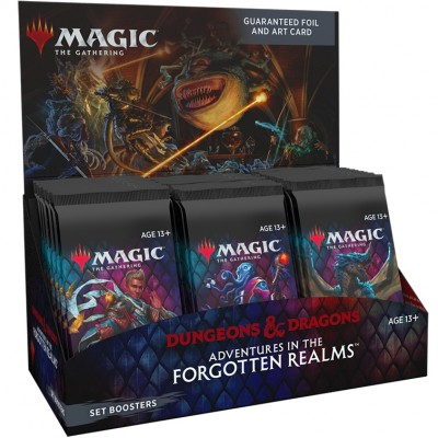 Boite de Boosters Magic the Gathering Adventures in the Forgotten Realms - 30 Boosters d'Extension