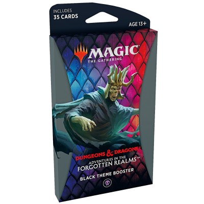 Booster Magic the Gathering Adventures in the Forgotten Realms - Booster Thématique - BLACK