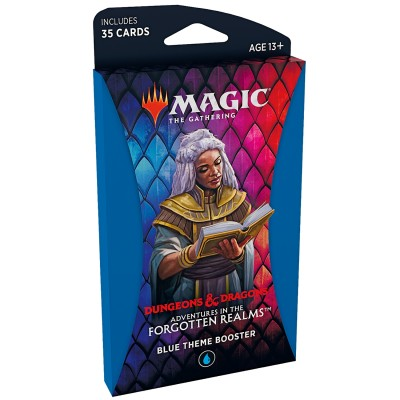 Booster Magic the Gathering Adventures in the Forgotten Realms - Booster Thématique - BLUE