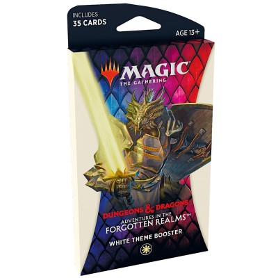 Booster Magic the Gathering Adventures in the Forgotten Realms - Booster Thématique - WHITE