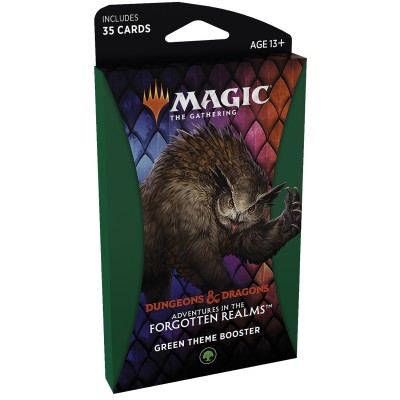 Booster Magic the Gathering Adventures in the Forgotten Realms - Booster Thématique - GREEN